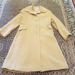 Talbots wool angora coat 14